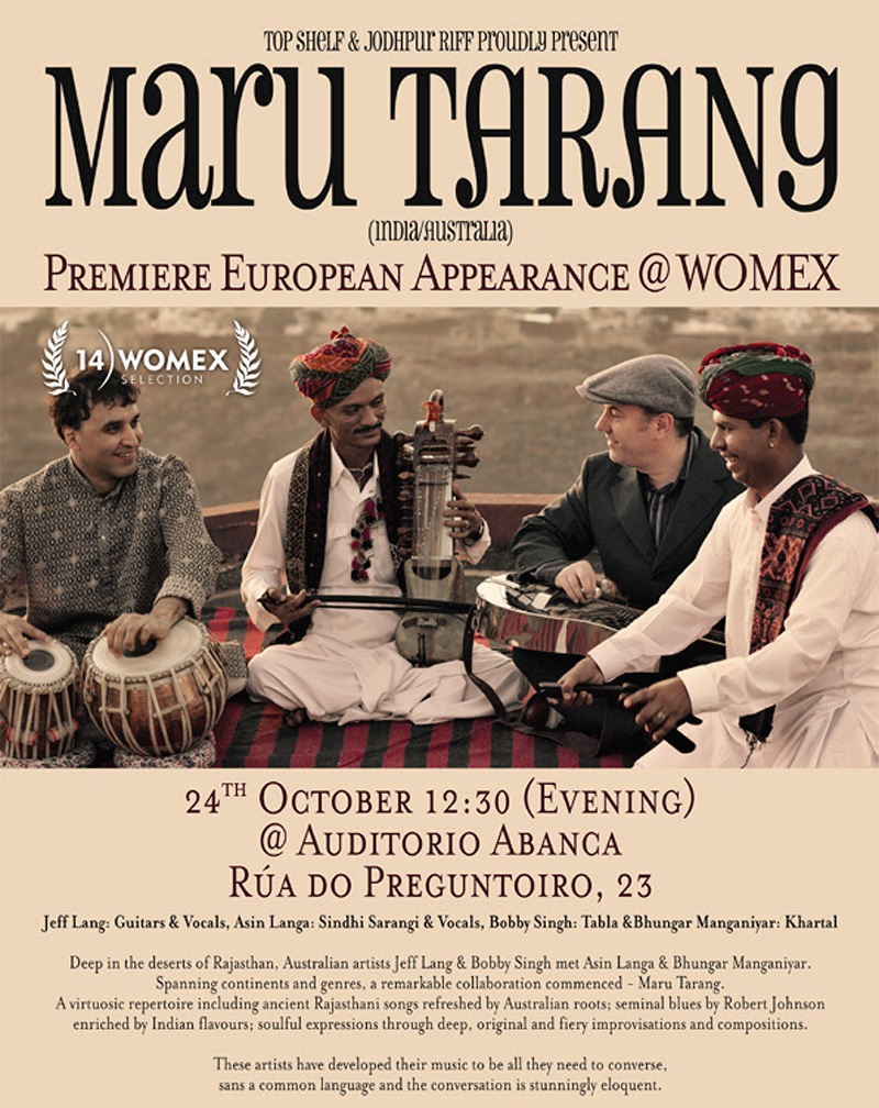 Maru Tarang at Womex